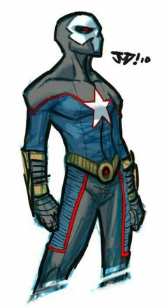 Kinda liking the thick clothing ya see here, but hate the gray and the skull. Little leather tabs are cool on the legs. Superhero Stories, Superhero Characters, Super Hero Outfits, Super Hero Costumes, Comic Character, Character Concept, Comic Books Art, Comic Art, Alternative Comics