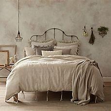 image of Wamsutta® Vintage Linen Duvet Cover