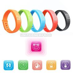 Smart Wrist Band Sleep Sports Fitness Activity Tracker Pedometer Bracelet Watch #Unbranded