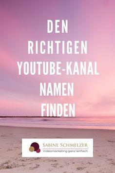 Den richtigen Youtube Namen finden für deinen Kanal ist nicht ganz einfach. Du solltest mit deinem Youtube Kanal Namen auf jeden Fall gut auffindbar sein. Gut zu wissen ist auch, dass du deinen Youtube Namen jederzeit wieder ändern kannst.