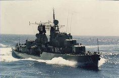 HMAS Vampire was the third of three Australian built Daring-class destroyers serving in the Royal Australian Navy (RAN) Australian Defence Force, Royal Australian Navy, Naval History, Navy Man, Navy Ships, Submarines, Aircraft Carrier, Royal Navy, War Machine