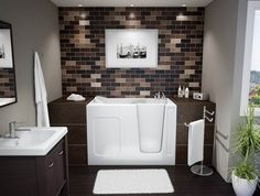 White brown and grey bathroom colors for small bathroom