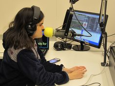 """Radio Gives Young DJs A Voice At Perkins School For The Blind Pictured above is 17-year-old Carolyn Harrington – a.k.a DJ Awesome –host of """"Pop Hitz Mega Mix"""" on Radio Perkins, an Internet radio station at the Perkins School for the Blind.  Sure, it's tough hosting your own radio show as a blind person, but listening to her broadcast? She absolutelykills it. [Read More]"""