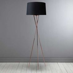 Albert Tripod Floor Lamp  | Dunelm