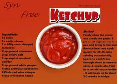 A lot of people can't live without ketchup. They need it on anything and everything they eat. But studies have shown that if you have ketchup for a long period of time, it is extremely unhealthy for you. You might argue that ketchup is simply made of to Healthy Eating Guide, Healthy Living Tips, Healthy Recipes, Paleo Food, Healthy Meals, Food Food, Slimming World Ketchup, Carb Cycling Diet, Japanese Diet