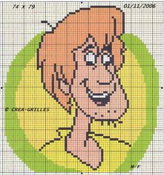 Pixel Art, Scooby Doo, Betty Boop, Tom E Jerry, Robin Hood, Lilo E Stitch, Graph Paper Art, Disney Cross Stitch Patterns, Crotchet Patterns