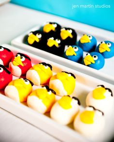 Angry bird birthday - or make them cute & happy!