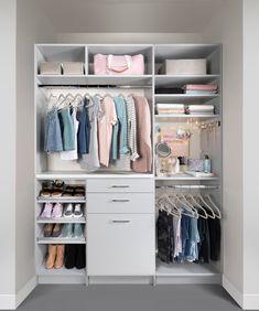 Wardrobe Design Bedroom, Room Design Bedroom, Home Room Design, Small Room Bedroom, Closet Bedroom, Bedroom Decor, Girls Bedroom, Bedrooms, Wardrobe Organisation