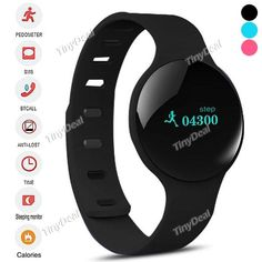 S068A Bluetooth 4.0 Smart Bracelet Calories Pedometer Sleep/Sports Monitor Watch for Android Phone WWT-331574