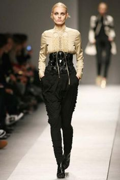 a/w 2008 Latin gothic #givenchy