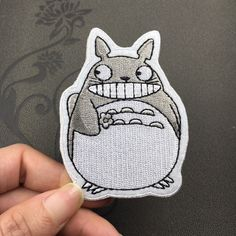 New to craftapplique on Etsy: My Neighbor Totoro Patch Embroidered Animation Sew on Iron on Patches (2.90 USD)