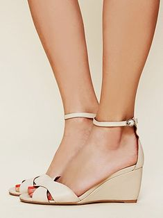 ae7e35afe535a Jeffrey Campbell Dayton Mini Wedge Sandal at Free People Clothing Boutique