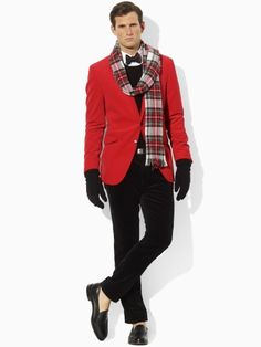 minus the bow tie, and the stupid shoes Red Blazer, Bowties, Stupid, Tartan, Baby Kids, Polo Ralph Lauren, Clothes For Women, Children, Winter