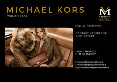 Engaging dose of eccentricity in MICHAEL KORS FW 16/17 collection available for a pre order at Myriam Volterra - The Italian Buying Office for Fashion & Luxury We guarantee you to provide all the necessary procedures to complete a successful trade! luxuryitalianbrands.com