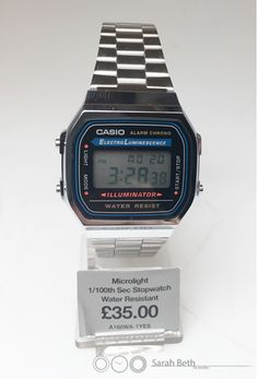 Retro Casio Collection Watches! Take a last from the past with the yet again trendy Casio's! As simple and classic as ever! And yes! They are at amazing prices! Follow the link to our Casio page to see for yourself! http://www.sarahbeth.co.uk/casio-watches-150-c.asp