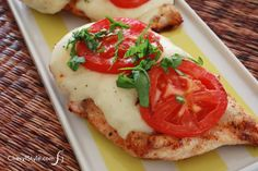 Caprese grilled chicken adds fresh summer flavor to a grilled favorite