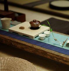 Tea table, chinese tea room