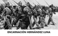 ENCARNACIÓN HERNÁNDEZ LUNA, capitana de la 9ª brigada de la 11ª División de Líster