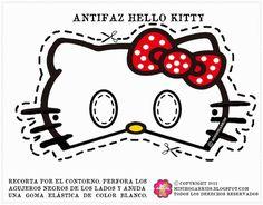 Free Printable for Kids - Hello Kitty masks, 4 bow color choices. Kitty Party, Hello Kitty Birthday Party Ideas, Birthday Ideas, Printable Halloween Masks, Printable Masks, Free Printable, 3rd Birthday Parties, Girl Birthday, Anniversaire Hello Kitty