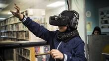 The role of virtual reality and technology in the future of museums - The Globe and Mail Virtual Reality Education, Augmented Virtual Reality, Virtual Reality Systems, Technology World, Energy Technology, Science And Technology, Medical Technology, Locomotive, Air Cannon