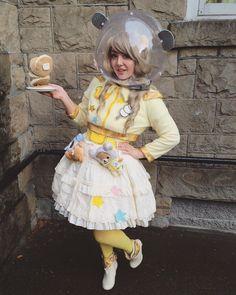 F Yeah Lolita, rabbit-winner: I dressed as Rilakkuma in space...