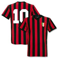 8ed711f6cda65 football shirts copa ac milan home retro shirt rivera 10
