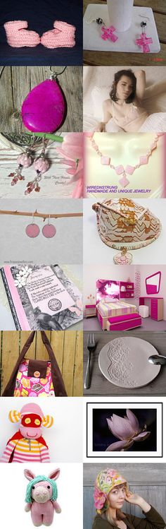 pretty in pink by Shawni Darling on Etsy--Pinned+with+TreasuryPin.com