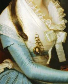 Portrait of a Lady (Détail) Artist:Anonymous (Italy)