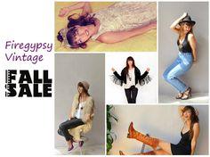 Fall Sale  store wide sale  fashion  vintage  by FiregypsyVintage, $0.20