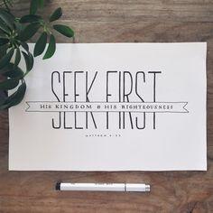 // seek first