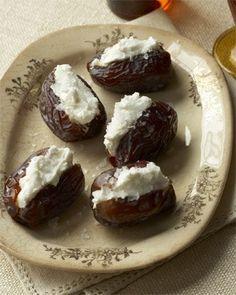 Goat-Cheese-Stuffed Dates Recipe
