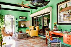 Eclectic Porch by Rikki Snyder