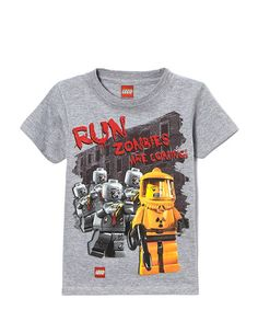 This is so making me crack up right now! Gray Zombies 'Run Zombies are Coming' Tee - Boys by Isaac Morris LTD #zulilyfinds