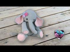 Amigurumi Éléphant crochet partie 1/2 - YouTube