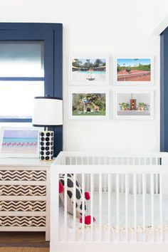 Baby Nursery decor inspiration with Gray Malin at the Parker