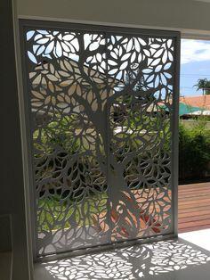 Screen Art Privacy Screens - residential entrance.  http://www.screenart.net.au