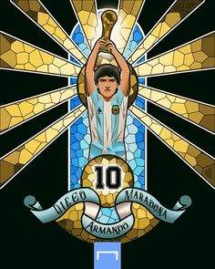 Diego Armando, Messi 10, Soccer, Football, Sports, Fictional Characters, Vintage, Grande, Posters