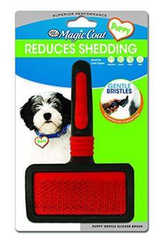 Four Paws Magic Coat Puppy Gentle Slicker Brush - http://www.thepuppy.org/four-paws-magic-coat-puppy-gentle-slicker-brush/