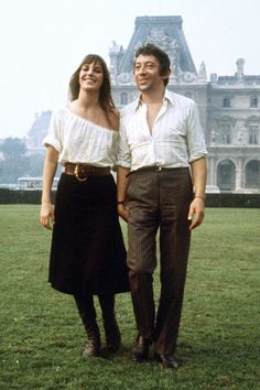 The 41 most stylish couples of all time: Jane Birkin and Serge Gainsbourg