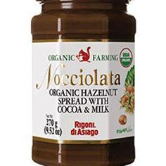 Nocciolata Hazelnut W/Cocoa Milk 9.52 Oz grocery Natural Grocery