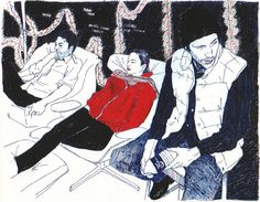 Hope Gangloff #ballpoint pen #illustration
