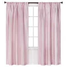"thinking of getting these light pink curtains from @Target to use as my closet ""doors"""
