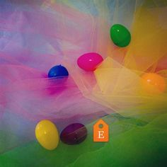 Easter Decorating Solved! Various Spring Colors of Tulle for Easter Baskets and decor Baby or Bridal Showers Birthday Parties! Pink Blue Yellow Orange Green. http://ift.tt/2jVuN45 - http://ift.tt/1HQJd81