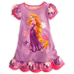 Looking for Tangled Princess Rapunzel Nightshirt Size Medium 7 - 8 ? Check out our picks for the Tangled Princess Rapunzel Nightshirt Size Medium 7 - 8 from the popular stores - all in one. Disney Outfits, Girl Outfits, Disney Clothes, Disney Princess Rapunzel, Tangled Rapunzel, Disney Pajamas, Disney Girls, Dress With Bow, Online Shopping Stores