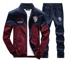 Tracksuit Tenis Baseball Golf Polo Suit M - 4xl Autumn Winter Men Sweatshirt Pants Set Outdoor Sport Joggers Jogging Palace