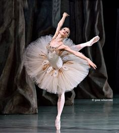 "Professional Ballet Tutu Inspiration ::: Yekaterina Kondaurova in ""Diamonds"" from Balanchine's ""Jewels,"" Mariinsky Theatre. Photo (c) Gene Schiavone. Tutu Ballet, Ballerina Dancing, Ballet Art, Ballet Dancers, Ballerinas, Shall We Dance, Just Dance, Ballet Russo, George Balanchine"