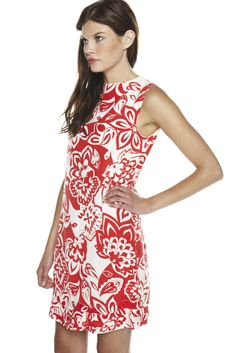 Floral Silk Dress.