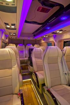 Our brand new luxurious 14 seated VIP Mercedes sprinter minibus is ready to fulfill all your family friends and self transfer needs for more than a ta. Mercedes Sprinter, Mercedes Benz Vans, Benz Sprinter, Luxury Van, Bus Interior, Top Luxury Cars, Busse, Custom Vans, Luxury Sports Cars