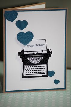 This is one handmade birthday card made from high quality cardstock and it measures approx. Description from etsy.com. I searched for this on bing.com/images