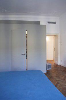appartamento residenziale a Milano Milano, Divider, Room, Furniture, Home Decor, Bedroom, Rooms, Interior Design, Home Interior Design